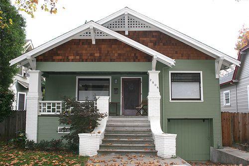 Bungalow Style Home Exterior... #Bungalow