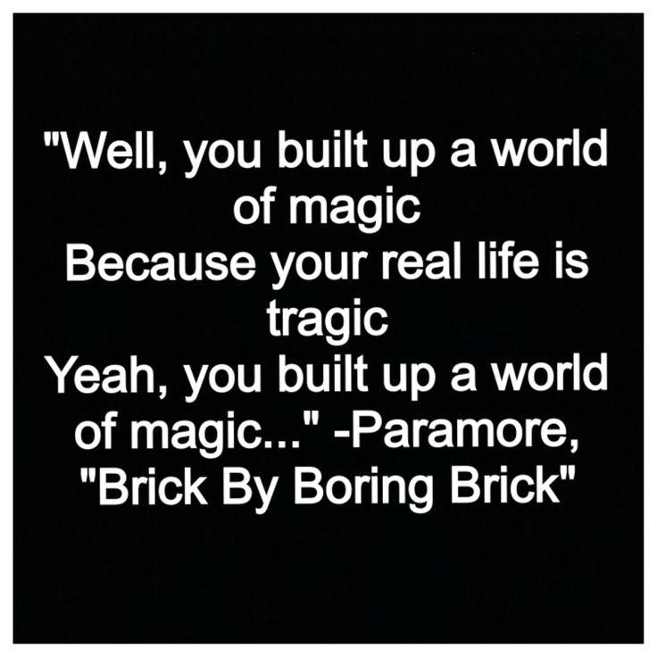 paramore quotes brick by boring brick - photo #9
