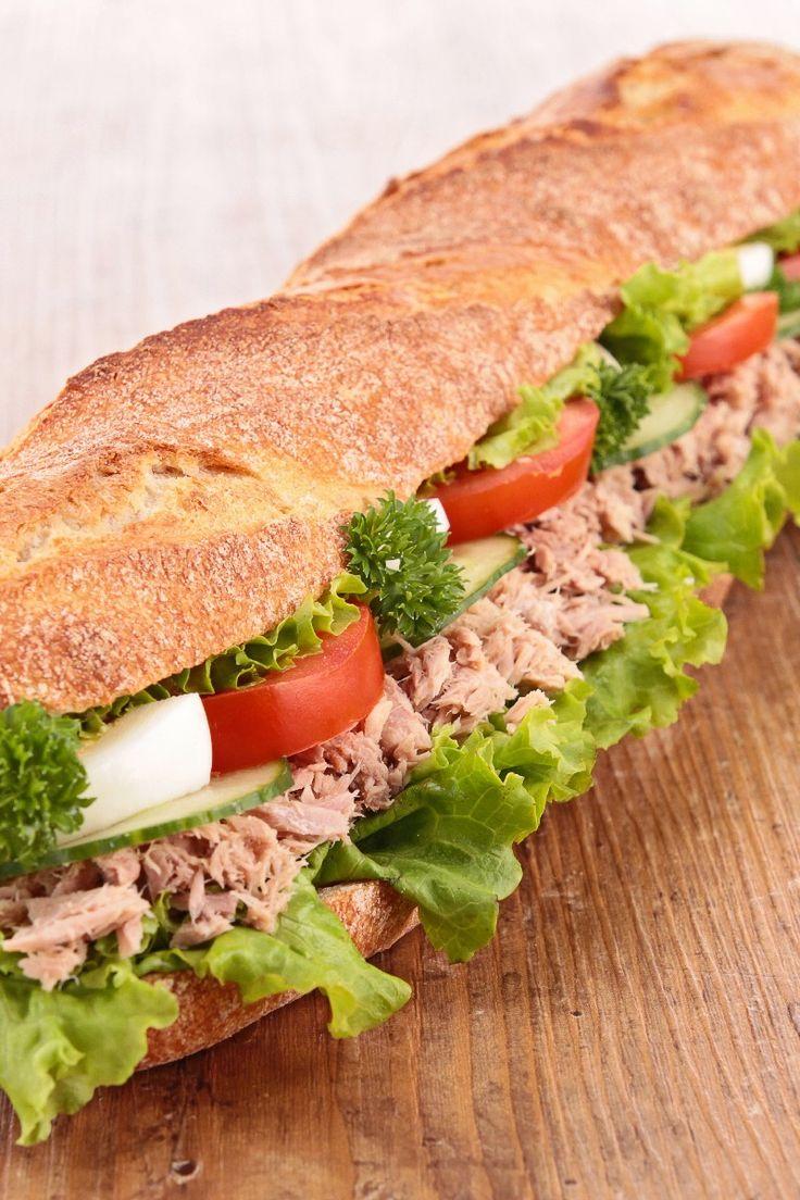 Italian Stuffed Tuna Sandwich Recipe | Sandwiches 2 | Pinterest