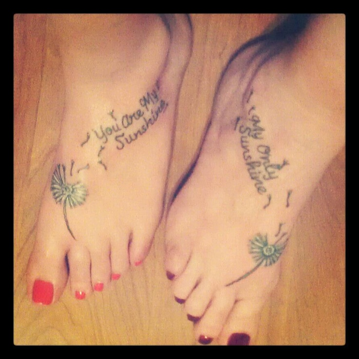 mom quotes from daughter tattoos
