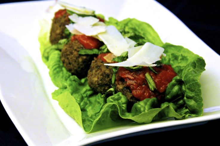 "Cannellini Bean Vegetarian ""Meatballs"" With Tomato Sauce Recipes ..."