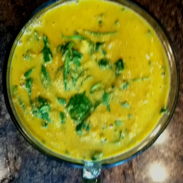My first batch of Golden Austrian Cauliflower Cream Soup. Eating To ...