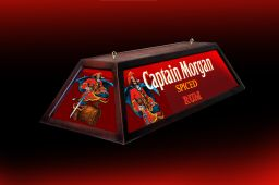 Custom 48 Captain Morgan Pool Table Light In Bar Billiards Lighti