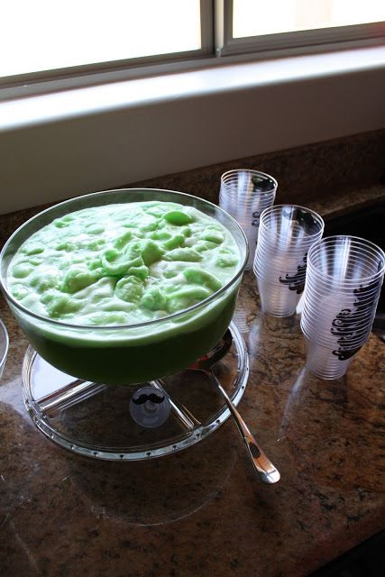 Lime sherbet punch | Punch Recipes | Pinterest