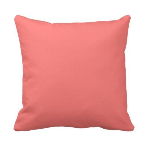 Throw Pillows With Coral : Coral throw pillow Home decor Pinterest