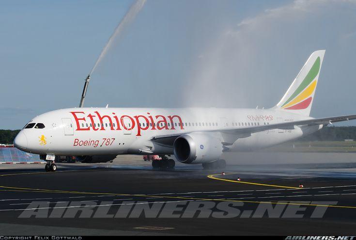 Ethiopian Airlines ET-AOQ Boeing 787-860 Dreamliner aircraft picture
