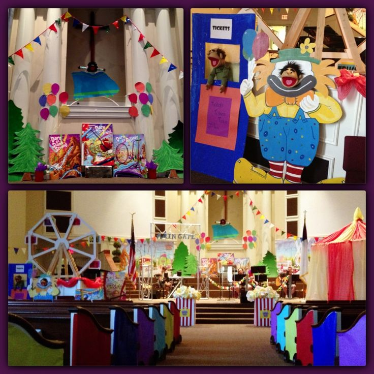 VBS Decorating Ideas
