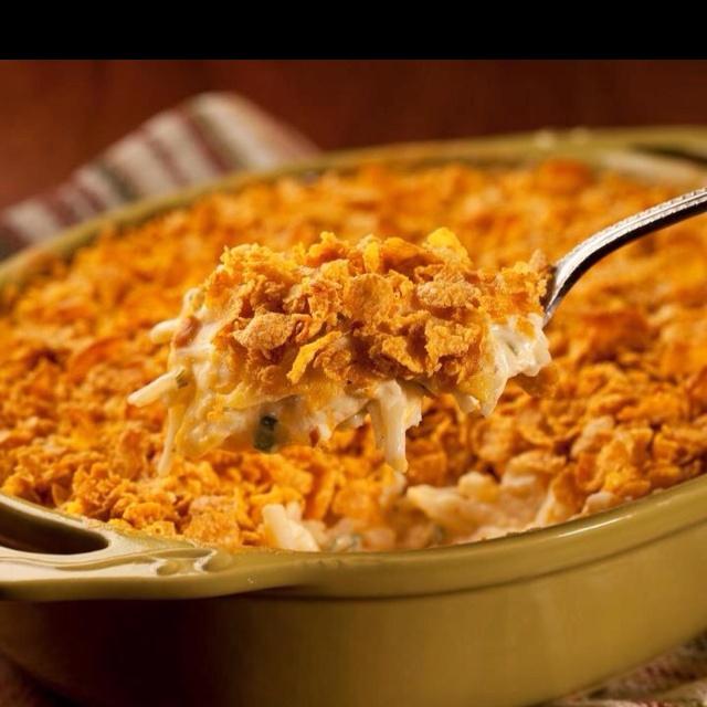 Cheesy potato casserole | Favorite Recipes | Pinterest