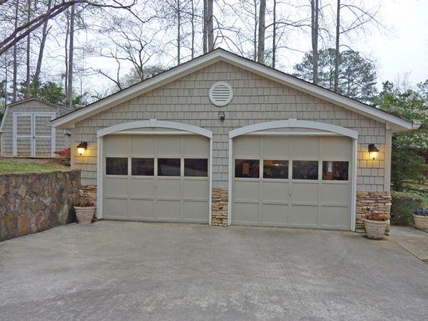 Detached garage plans with side porch garage detached for Detached carport designs