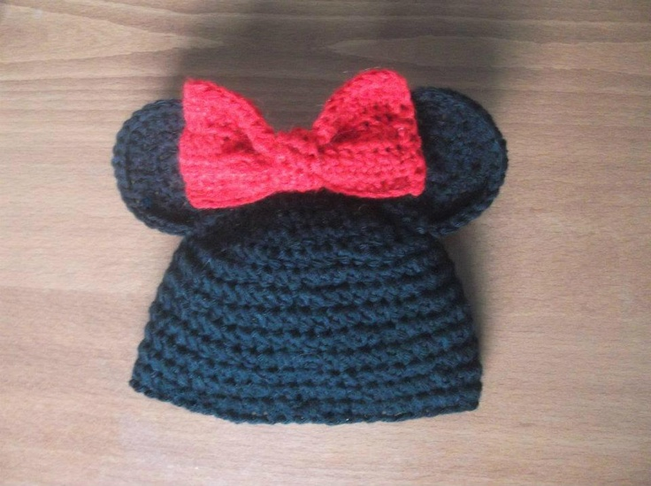 CROCHET PATTERN Hat Mickey and Minnie Mouse, All sizes ...