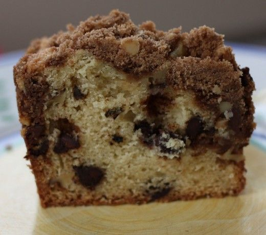 Chocolate Chip Coffee Cake. | breakfast foods | Pinterest