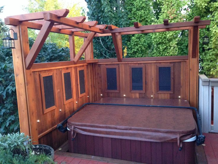 privacy wall and pergola garden ideas pinterest