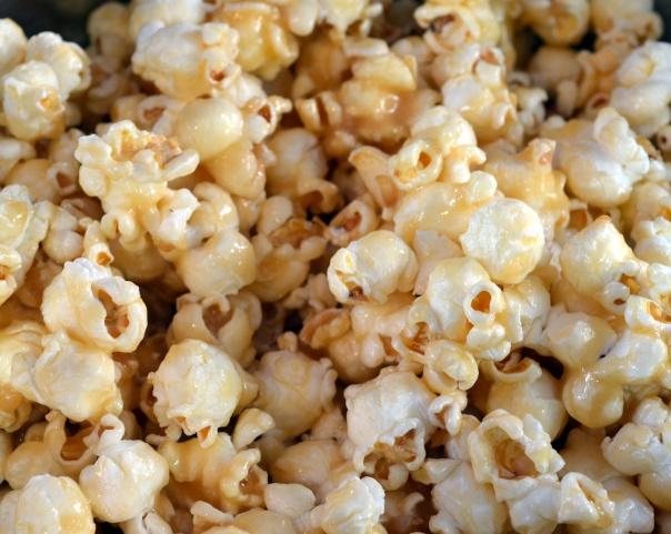 white sugar caramel popcorn recipe