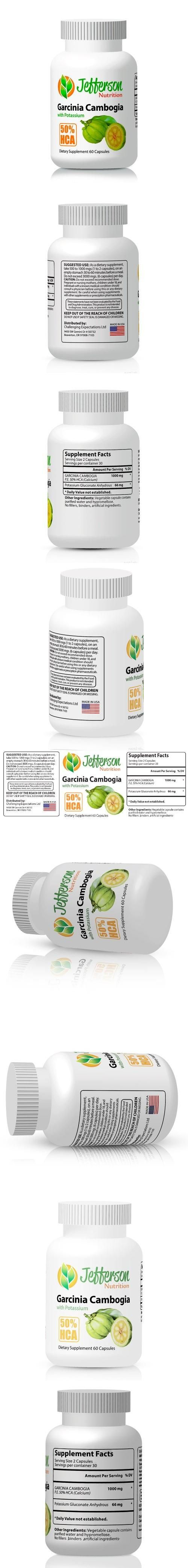 Cambogia Extract 50% HCA, added potassium and no binders, fillers or