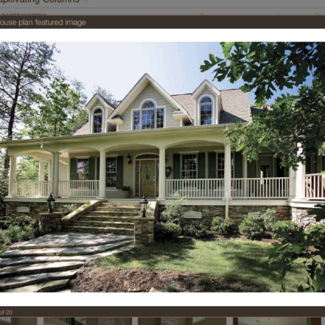 Beautiful Home With Wrap Around Porch Dream Home Pinterest