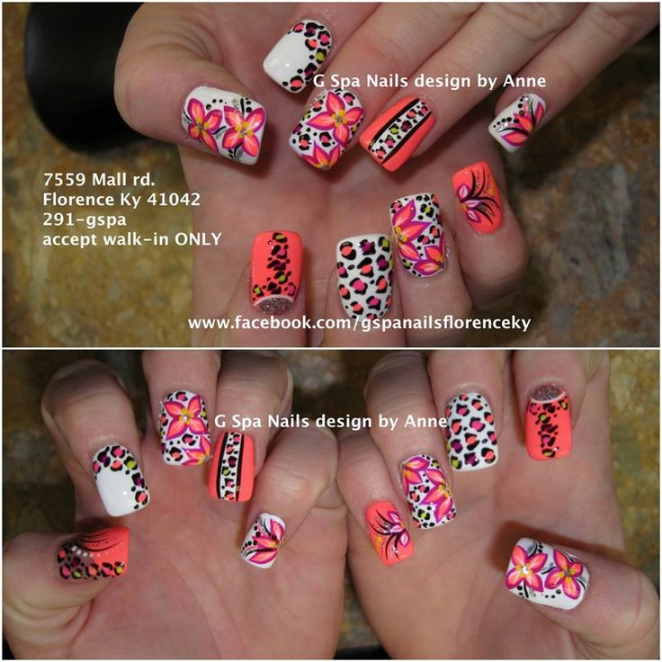 Nails design cheetah beautify themselves with sweet nails cheetah nail designs nails designs pinterest prinsesfo Choice Image