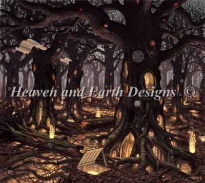 Autumn artwork by jacek yerka chart design by michele sayetta for