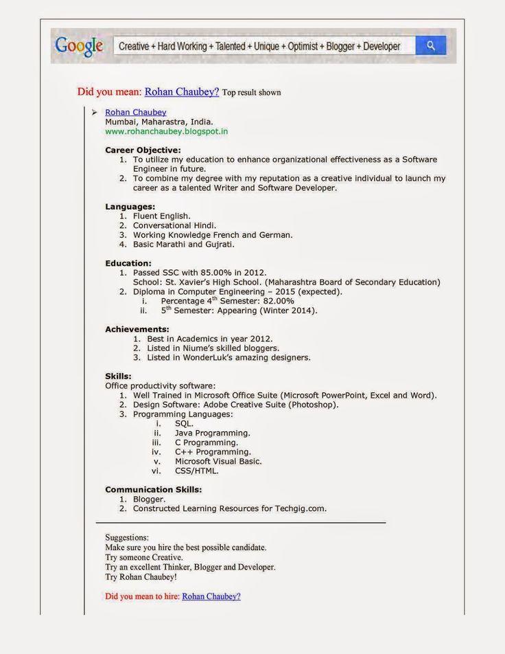 Best Resume Format For Usa Jobs