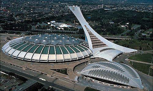 Olympic Stadium Montreal Canada Architecture Engineering Desig