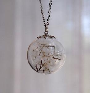Dandilions!!! ♥ secret dreams necklace