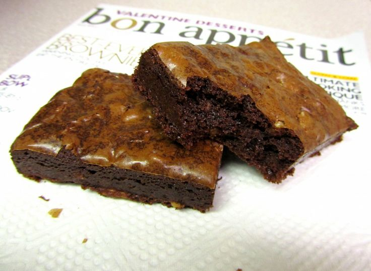 Cocoa Brownies with Browned Butter and Walnuts - love browned butter ...
