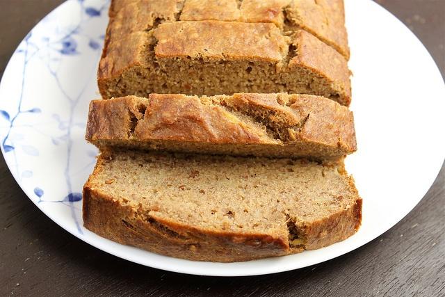 Vegan Bourbon Banana Bread   Vegan Baking   Pinterest