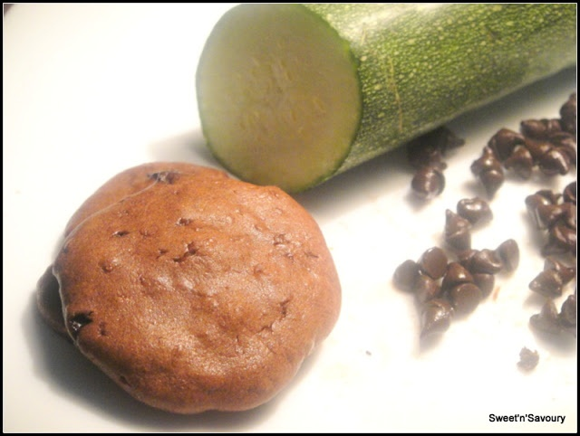 chocolate # fudge # zucchini # cookies