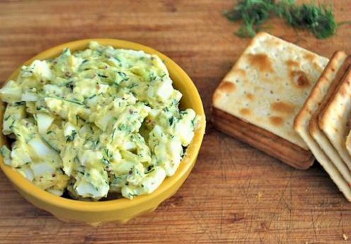 Egg Salad with Zucchini for Lunch | Savvy: Lunch | Pinterest