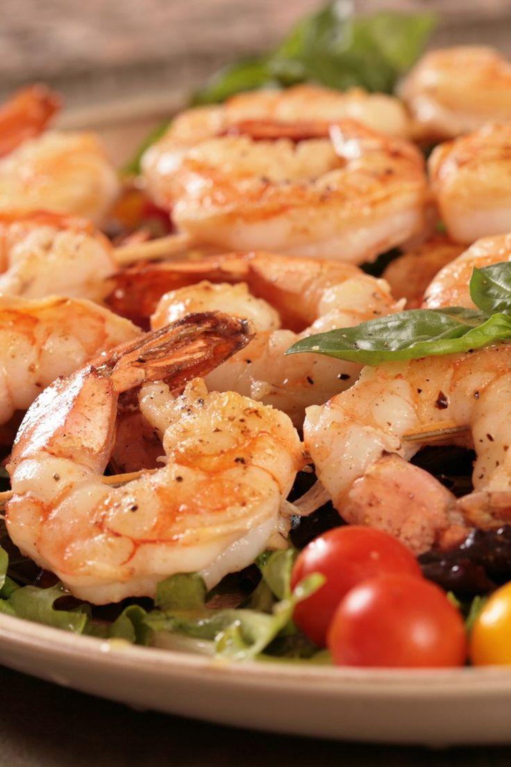 Marinated Grilled Shrimp Recipe | Eating is Good | Pinterest