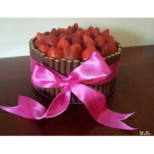 Birthday chocolate cake (geïnspireerd door Lorraine Pascale)