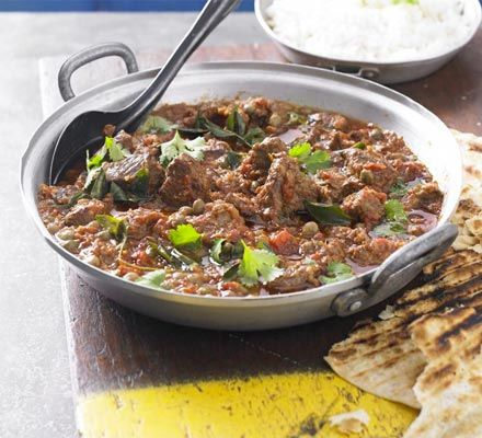 Goat curry. - Cheap cuts like goat and mutton require slow-cooking in ...