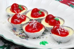 Mini-cheesecakes. I bet it would bake up just fine in a spring form pan.