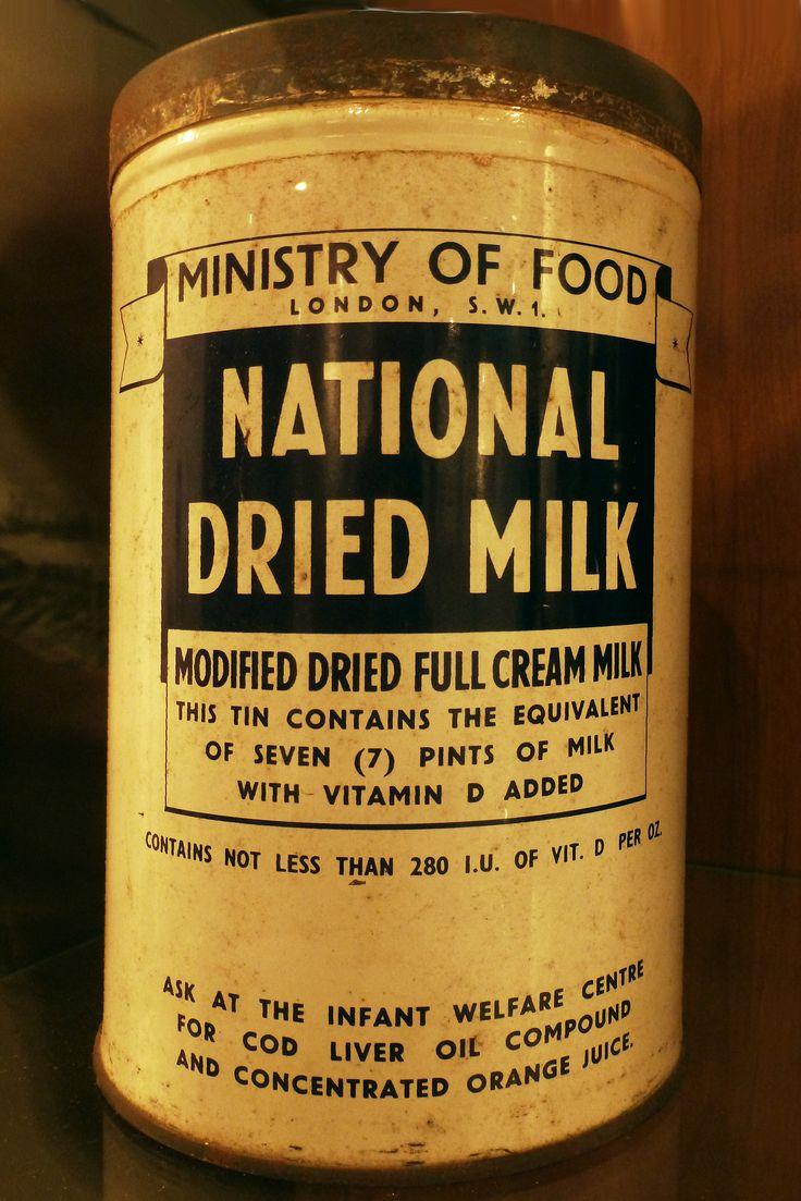 national dried milk ww2 history pinterest. Black Bedroom Furniture Sets. Home Design Ideas