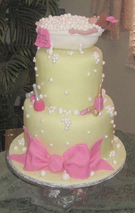 Spa cake by sharoncakes, via Flickr