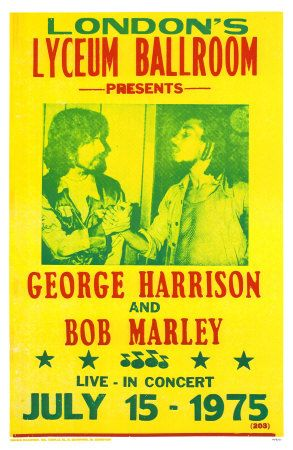 George Harrison & Bob Marley