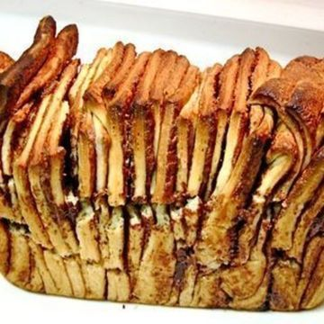 Nutella Layered Pull Apart Bread | Recipes ~ Bread (Pull-Apart) | Pin ...