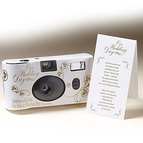 Disposable Cameras For The Tables Wedding Ideas Pinterest