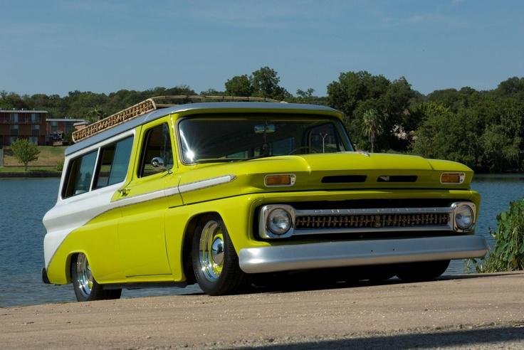 Yellow Chevy Trucks Autos Post