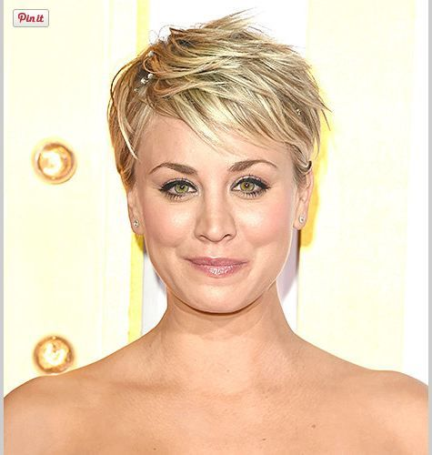 Kaley Cuoco-Sweeting Debuts a Pixie Cut forecasting