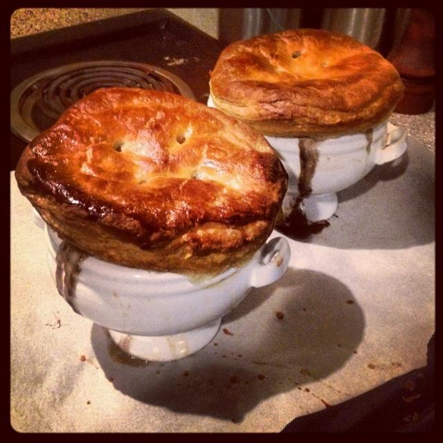 ... mushroom and bacon pie recipes dishmaps chicken mushroom and bacon pie
