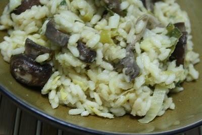 Mushroom and Leek Risotto | yummy | Pinterest