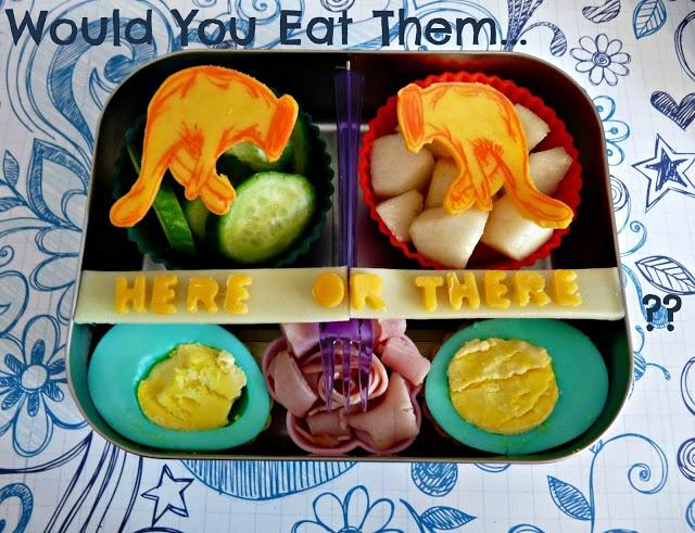 Dr Seuss Lunch Green Eggs and Ham bento | Child Food / Bento | Pinter ...
