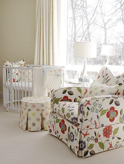 What a happy calm nursery