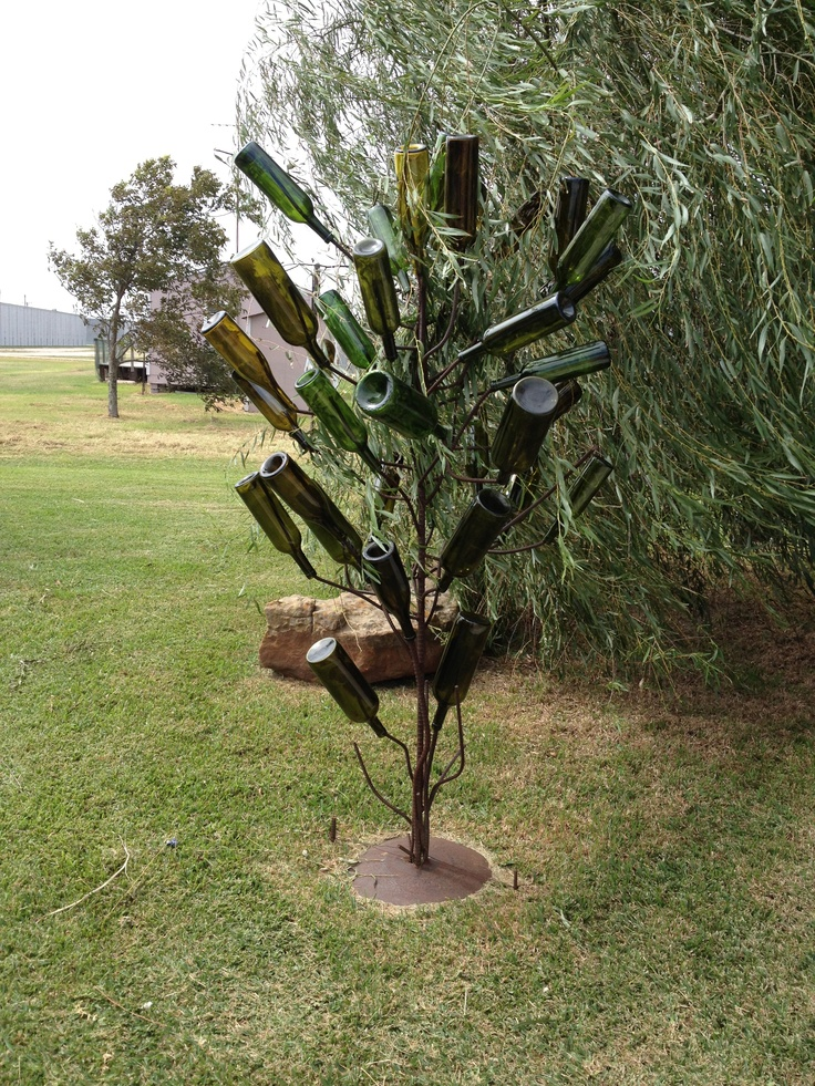 Best 28+ - Wine Bottle Tree Work Ideas - bottle tree ...
