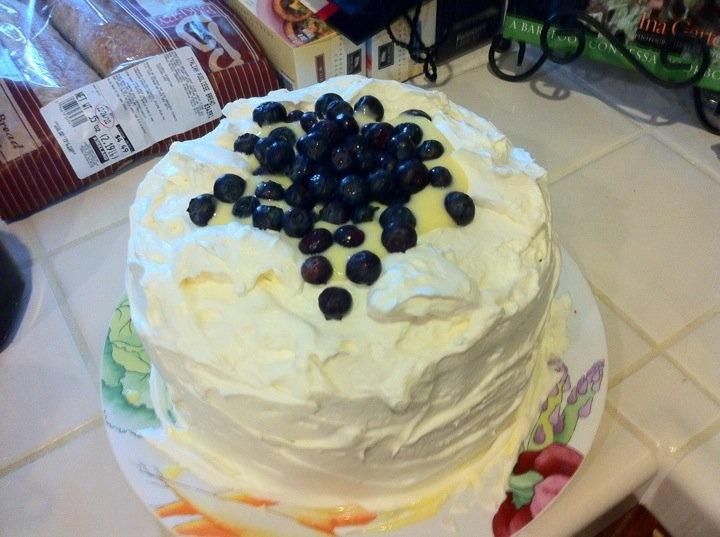 lemon cooler cake