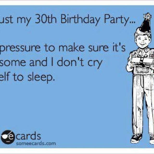30th birthday humor :) | Laughter is the best medicine ...