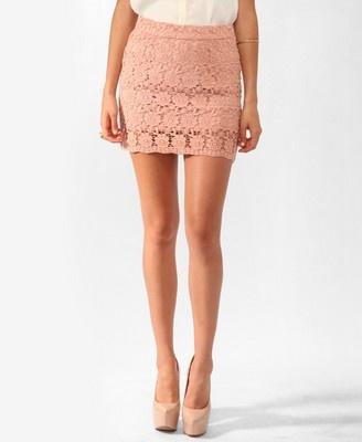 Short Crochet skirt