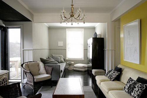Yellow Accent Wall Home Ideas Lounge Pinterest