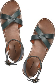 Isabel Marant green sandals