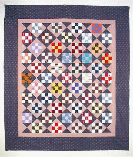 9-Patch and Hourglass Quilt Pattern by MSQC - MSQC - MSQC